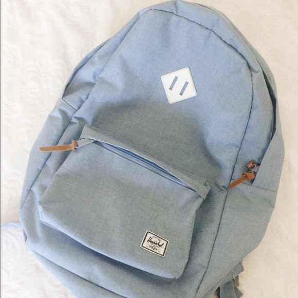 Herschel Supply Company Handbags - Herschel Heritage Chambray Crosshatch  Backpack 21L 0399340e6baaa